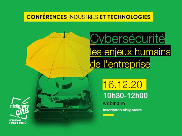 Webinar : Cybersécurité les enjeux humains de l'entreprise